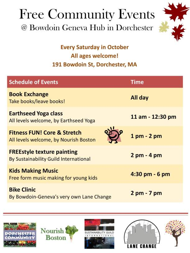 Free Activities at the Hub Tomorrow (and every Saturday)!