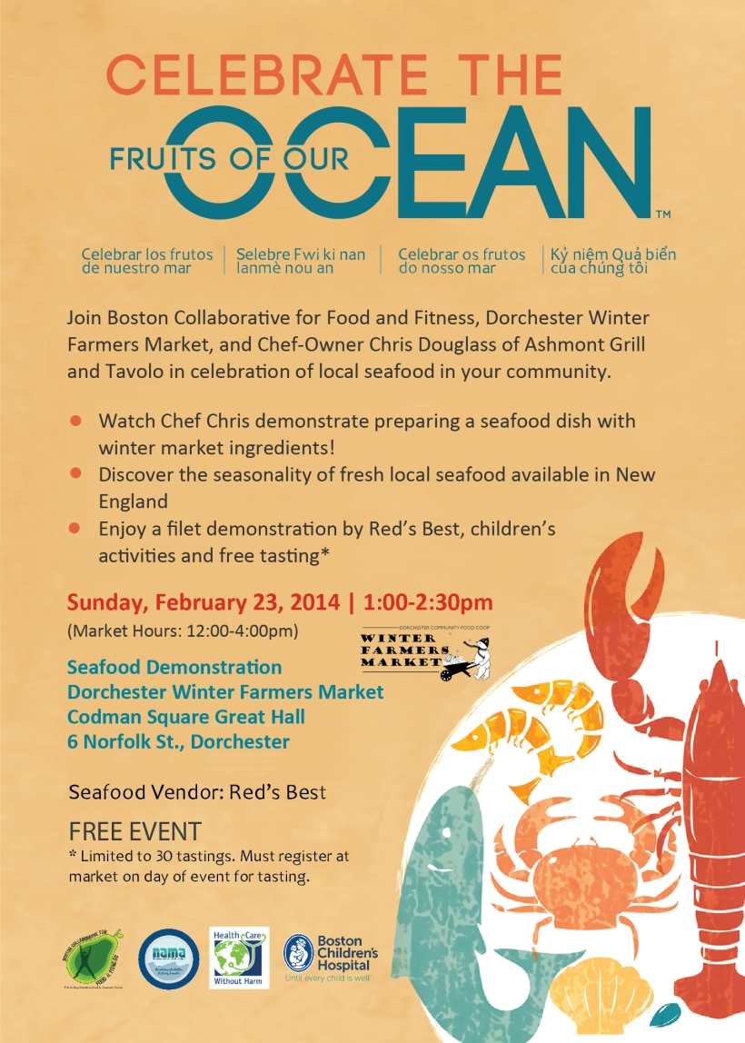 Seafood Festival at Winter Farmers' Market February 23